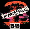 SOCIAL DISTORTION (1945 LOGO) Sticker