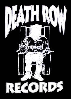 Death Row Records White Logo