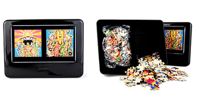 JIMI HENDRIX (BOLD AS LOVE) 2 Jigsaw Puzzles