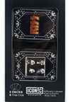 KISS (COVER LOGO) 2 Card Set with Dice
