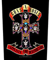 GUNS N ROSES (APPETITE) Back Patch