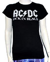 ACDC (BACK IN BLACK) Girls Tee