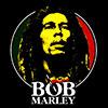 BOB MARLEY (LOGO FACE) Magnet