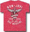 BON JOVI (BAD MEDICINE) Red