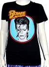 DAVID BOWIE (ALADDIN BLUE) Girls Tee