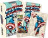 CAPTAIN AMERICA (SHIELD) Playing Cards