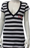 CURE (STRIPES DEEP NECK) Babydoll