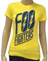FOO FIGHTERS (LOGO) Babydoll