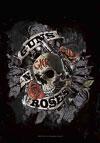 GUNS N ROSES (SKULL) Flag