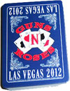 GUNS N ROSES (LAS VEGAS 2012) Playing Cards