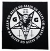 GG ALLIN (WAR IN MY HEAD) Screen-Printed Patch