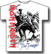 IRON MAIDEN (OVERSIZED TROOPER) Large Print White