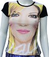KELLY CLARKSON (FACE ALL OVER) Babydoll