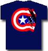 CAPTAIN AMERICA (SHIELD NAVY)