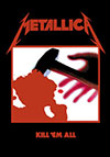 METALLICA (KILL EM ALL) Flag