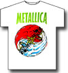 METALLICA (FIRE AND ICE) White