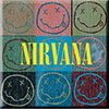 NIRVANA (DISTRESSED SMILEY) Magnet