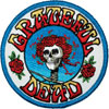GRATEFUL DEAD (SKULL ROSE LOGO) Patch
