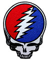 GRATEFUL DEAD (STEAL YOUR FACE DIE CUT) Patch