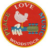 WOODSTOCK (PEACE, LOVE, MUSIC) Patch