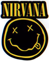 NIRVANA (DIECUT LOGO) Sticker