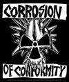 CORROSION OF CONFORMITY (SKULL W/LOGO) Sticker