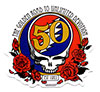 GRATEFUL DEAD (50TH ANNIVERSARY) Sticker