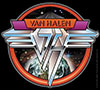 VAN HALEN (SPACE LOGO) Sticker