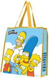 SIMPSONS (FAMILY PORTRAIT) Large Tote Bag
