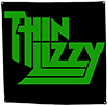 THIN LIZZY (LOGO) Flag