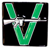 VANDALS (V GUN) Belt Buckle