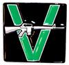 VANDALS (V GUN) Belt Buckle